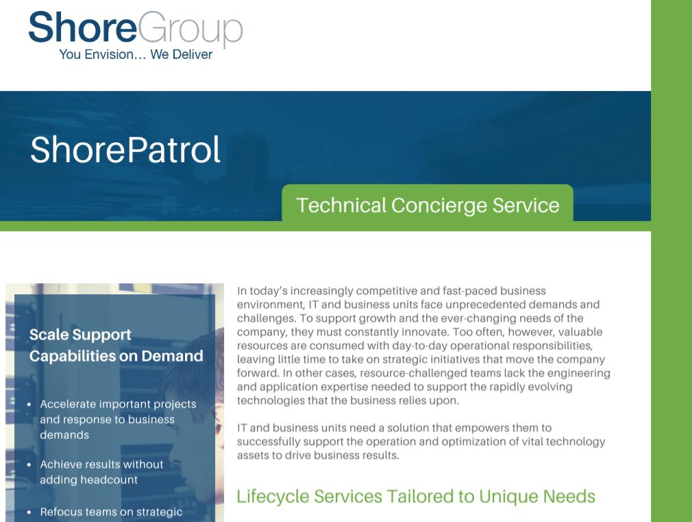 ShorePatrol_Technical_Concierge_Services_Cover