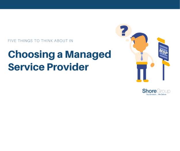 choosing a managed service provider ebook cover page