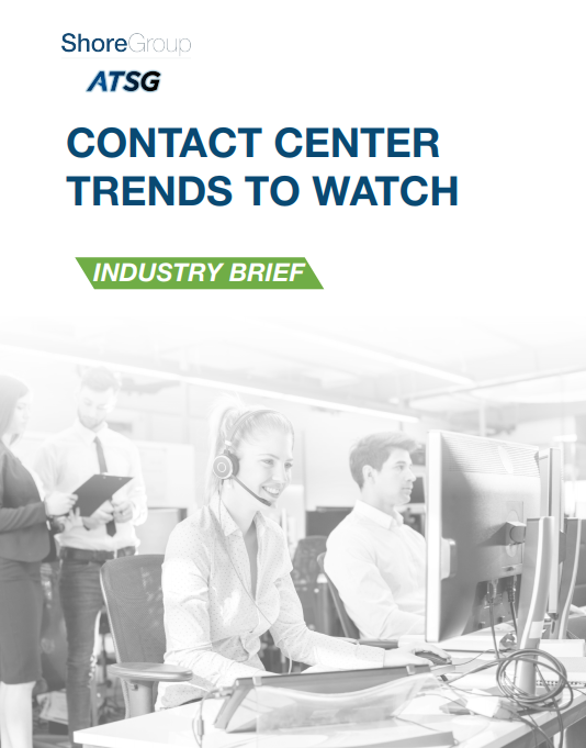 Contact Center Trends Industry Brief