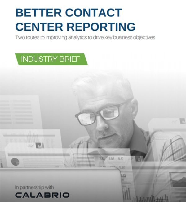 better contact center reporting