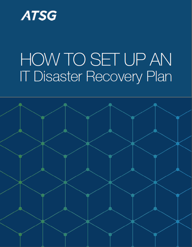 how to set up an IT disaster recovery plan industry brief cover page
