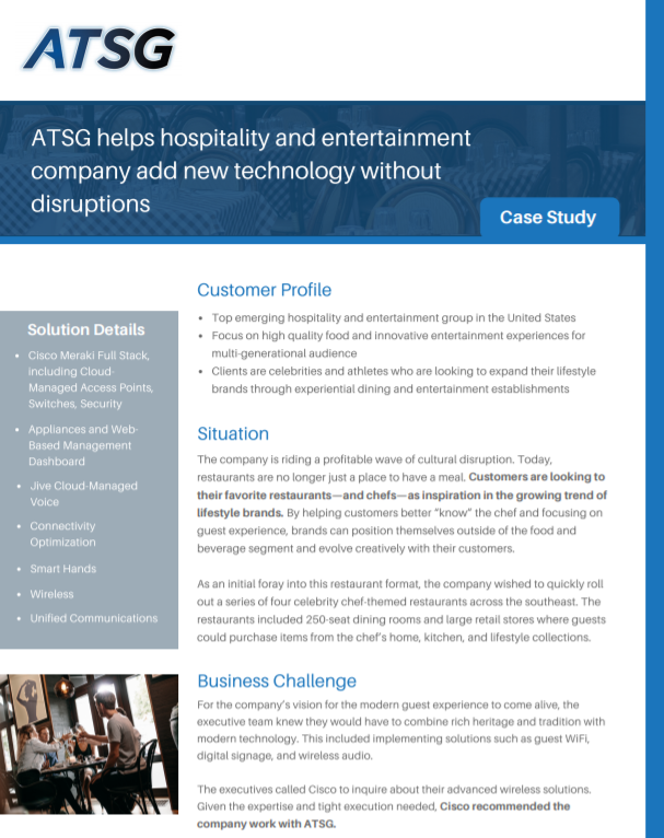 Hospitality-and-Entertainment-Case-Study-ATSG-Logo-Cover-Full